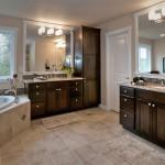 Soaking Tub and Vanities