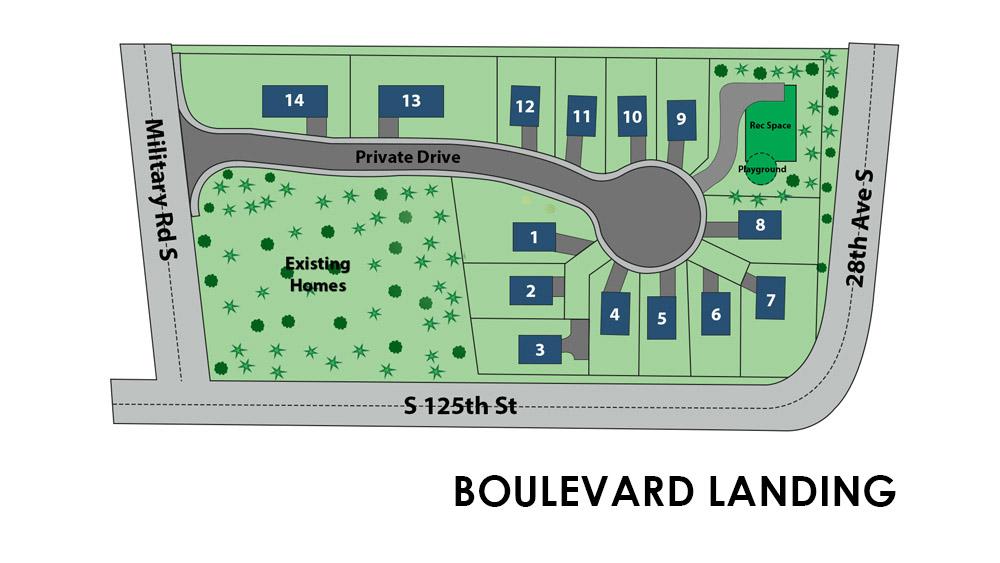 boulevard-landing site plan