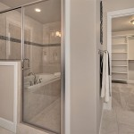 Walk In Shower and Master Closet