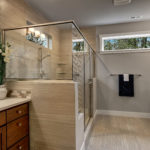 Dual Vanities and Shower