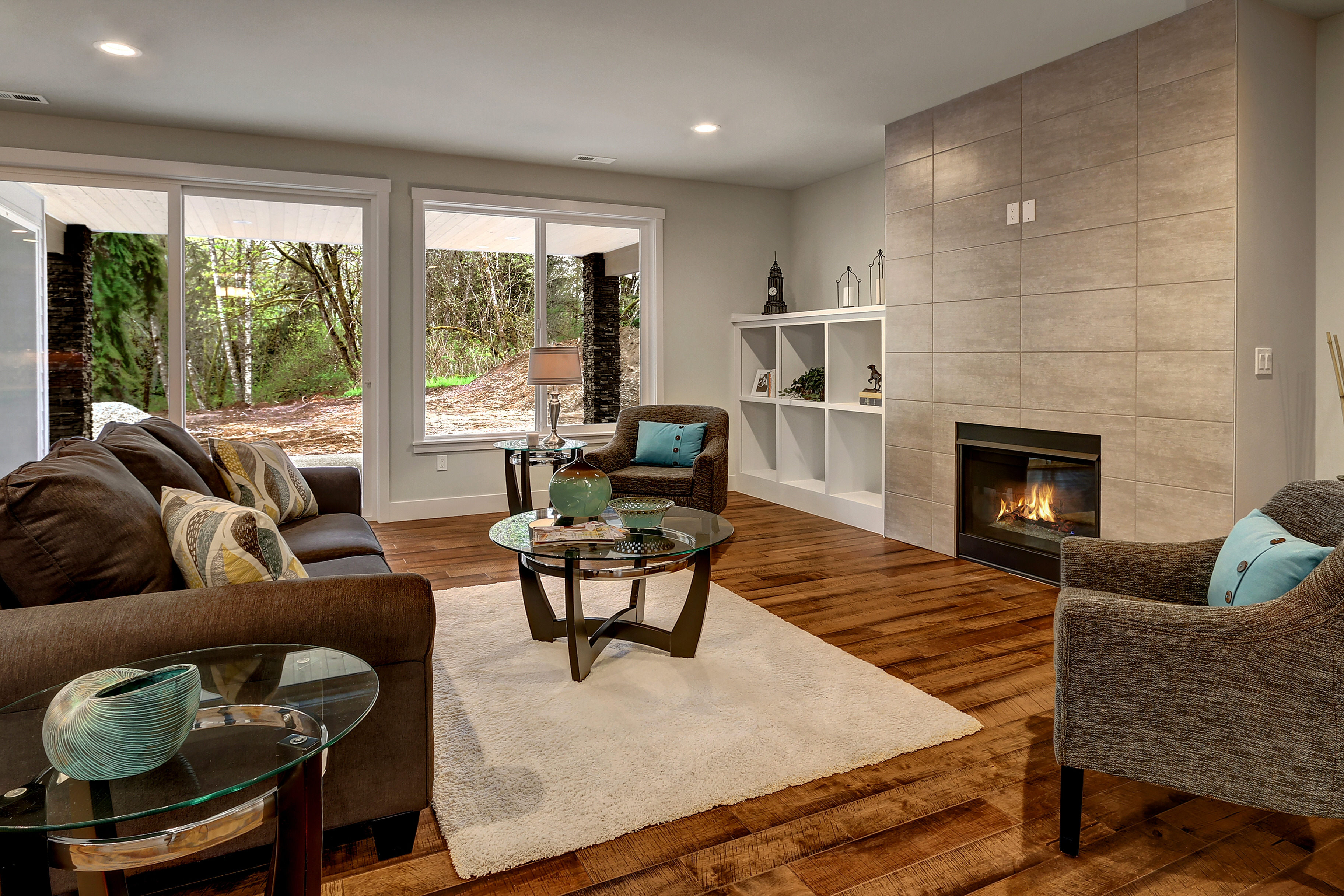 Gas Fireplace Living Room