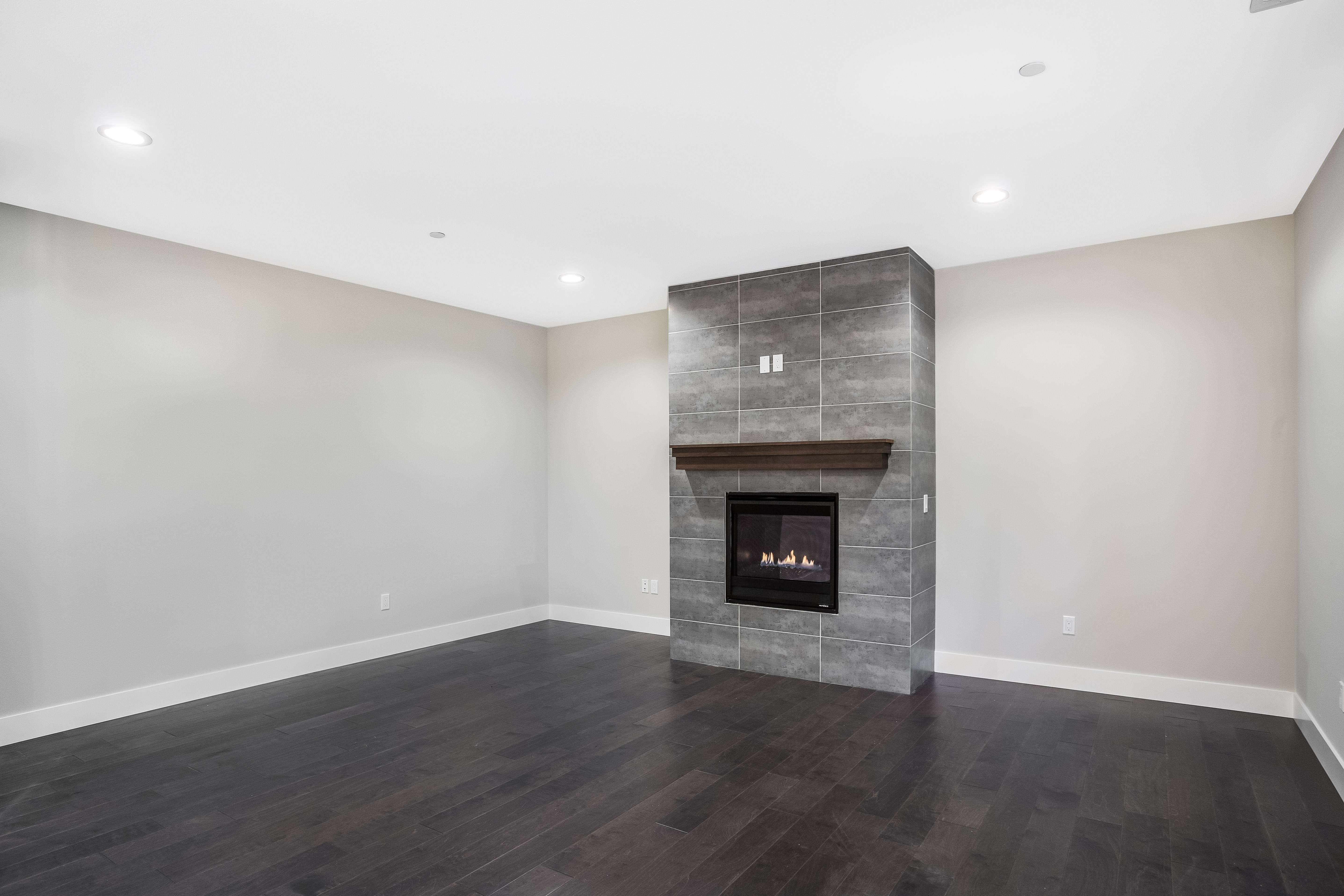 SE 56th Court Lot 1 Living Room w/ Gas Fireplace