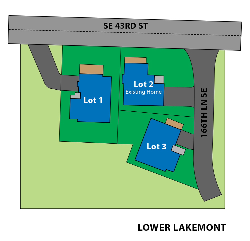 Lower Lakemont site plan