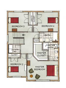 c upper floorplan