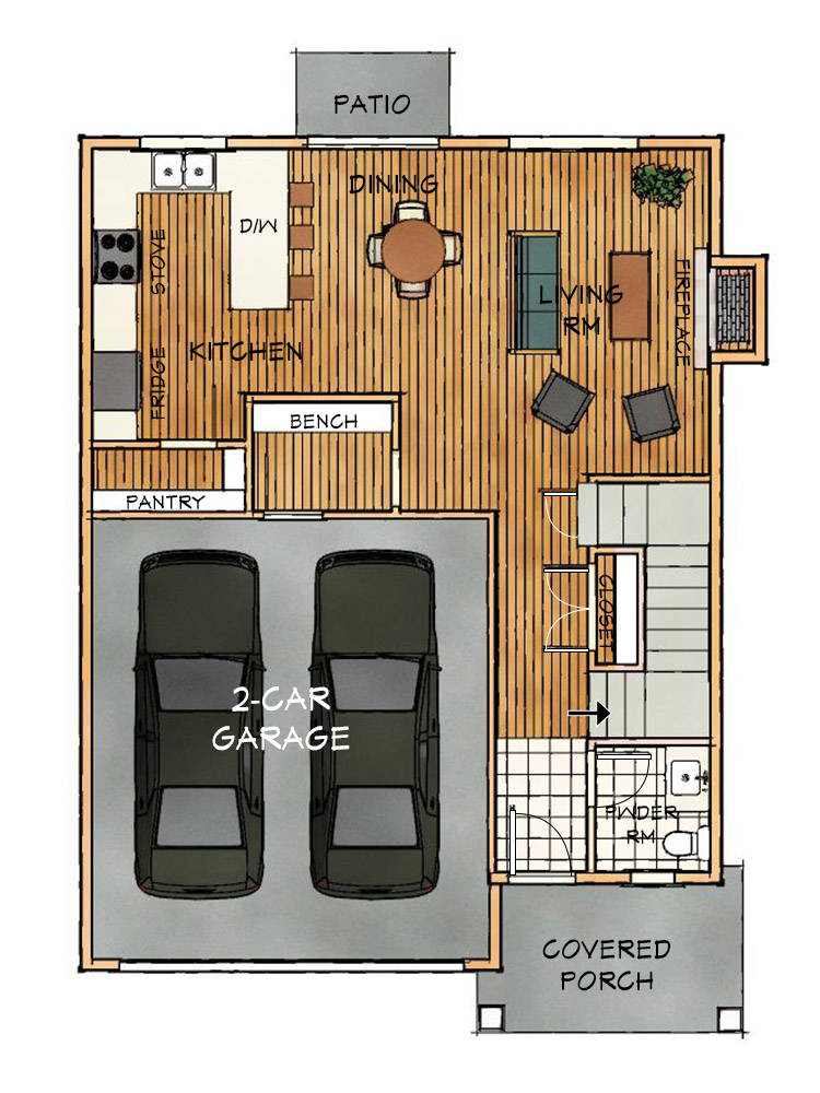 B Floorplan Main