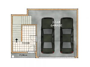 C lower floorplan