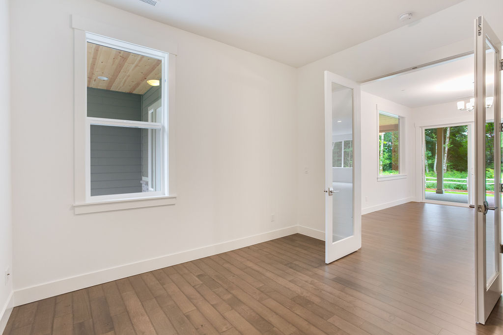 Office Space with French Doors