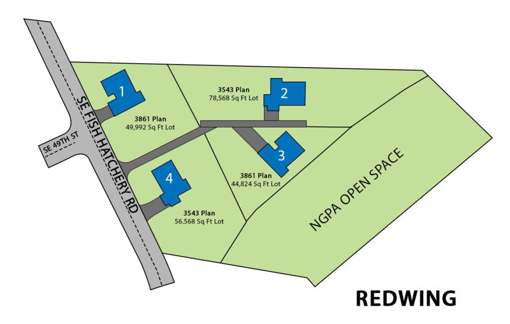 Redwing Site Plan