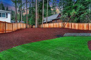 SE 42nd Court Lot 10 backyard