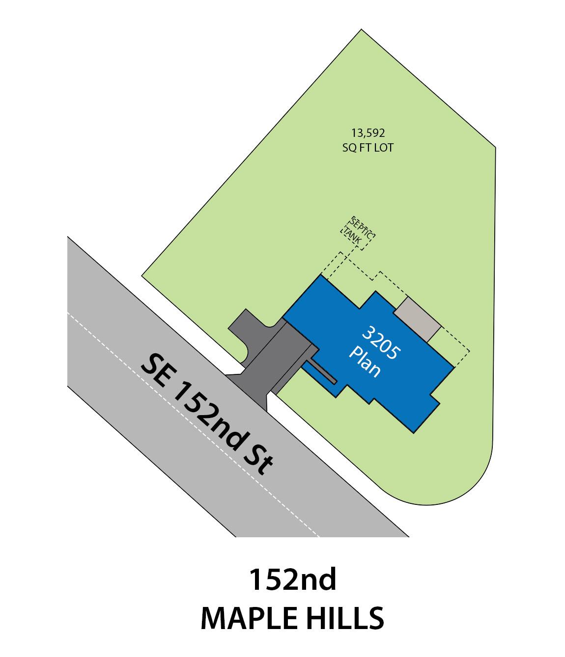 152ND plat map