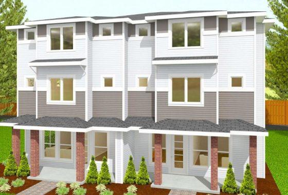 Kirkland Ave Townhouse Grey