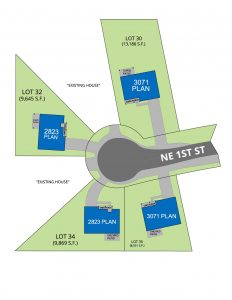 NE 1st site plan