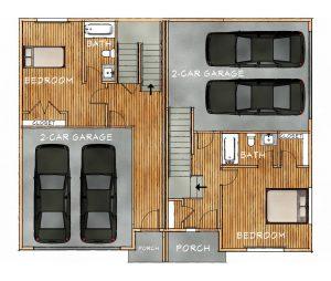bldg h lower floorplan