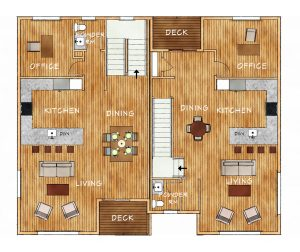bldg h main floorplan