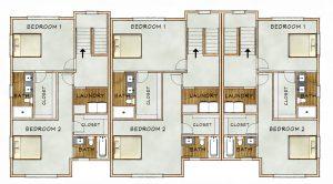 building upper floorplan