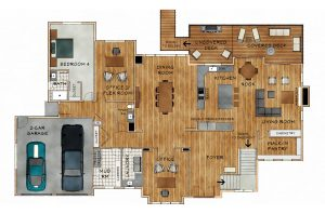 SE 62nd St floorplan