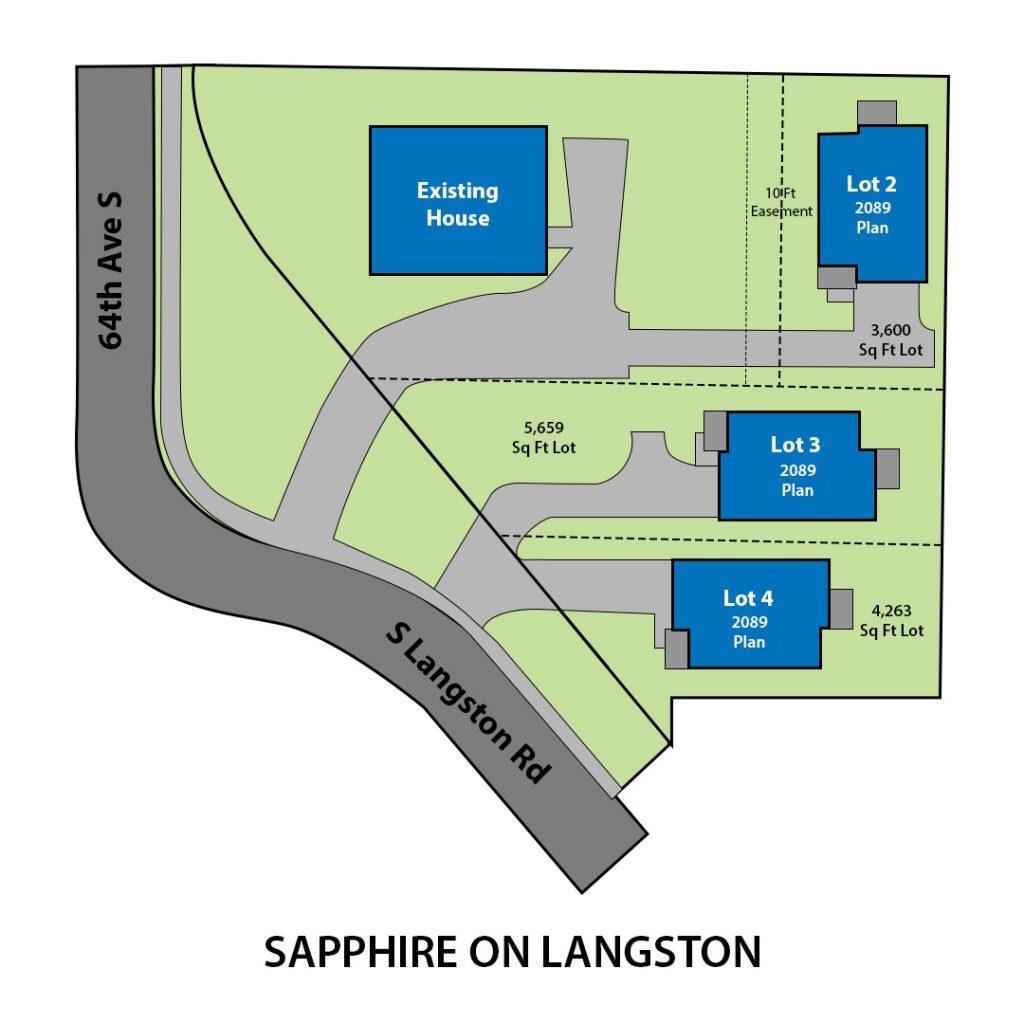 Langston Site Plan